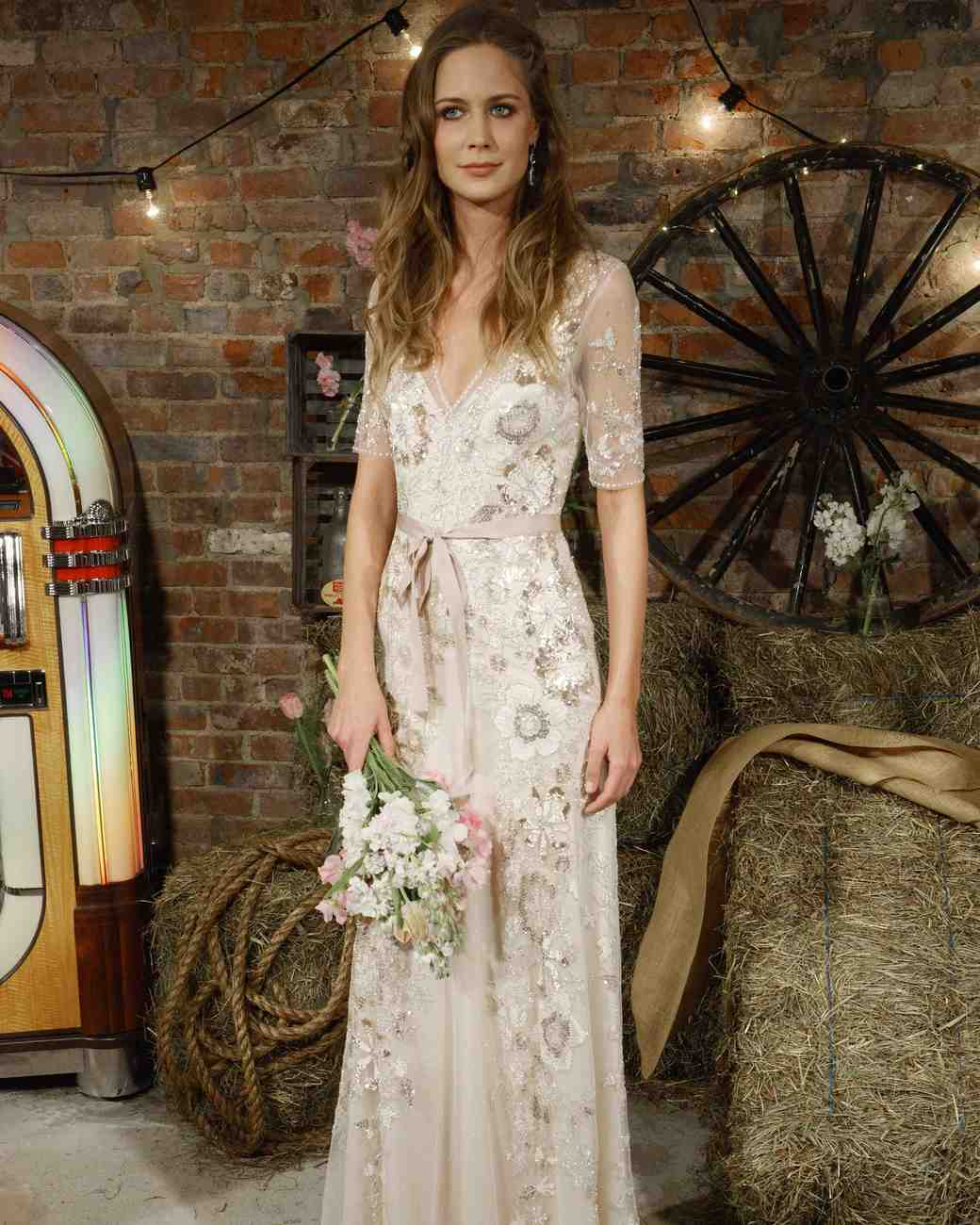 Jenny Packham Bow Wedding Dress