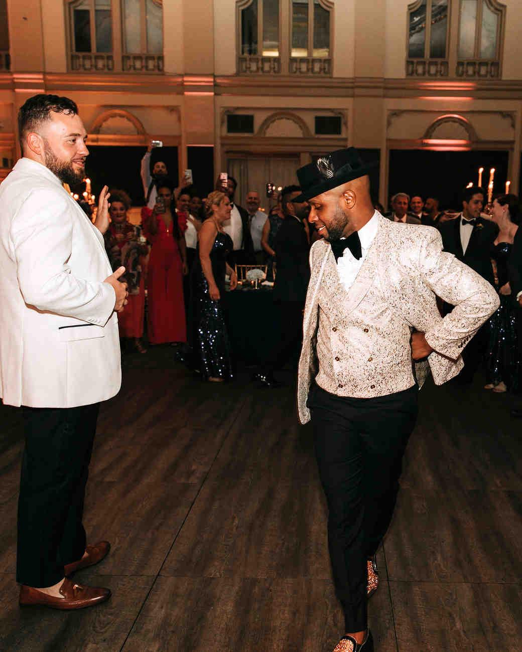 joe tim new orleans wedding first dance