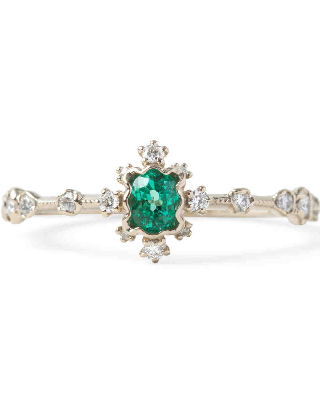 Kataoka Emerald Engagement Ring