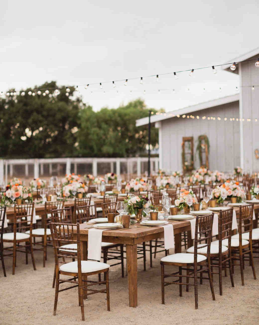 california indian jewish wedding outdoor reception