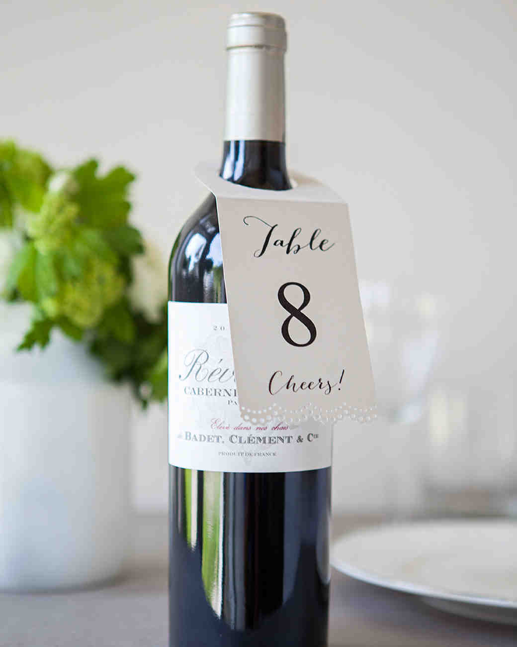 Vino Table Numbers