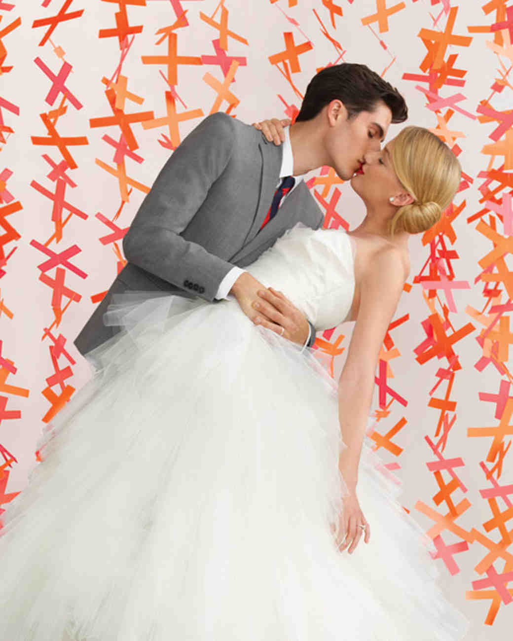 Creative kiss wedding ideas martha stewart weddings junglespirit Image collections