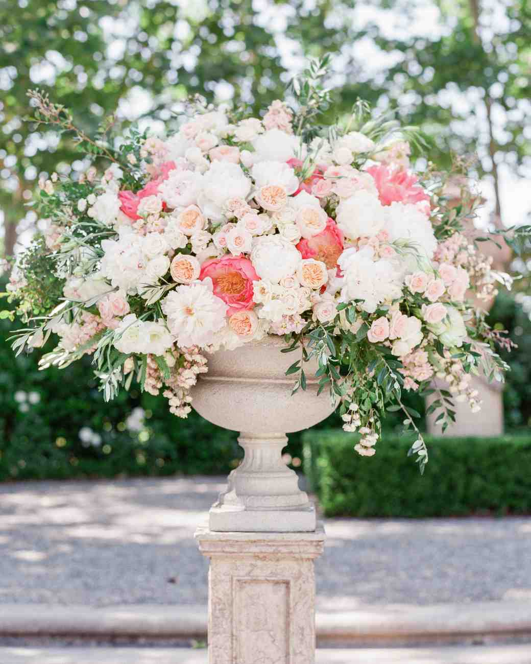 38 pink wedding centerpieces we love martha stewart weddings mightylinksfo