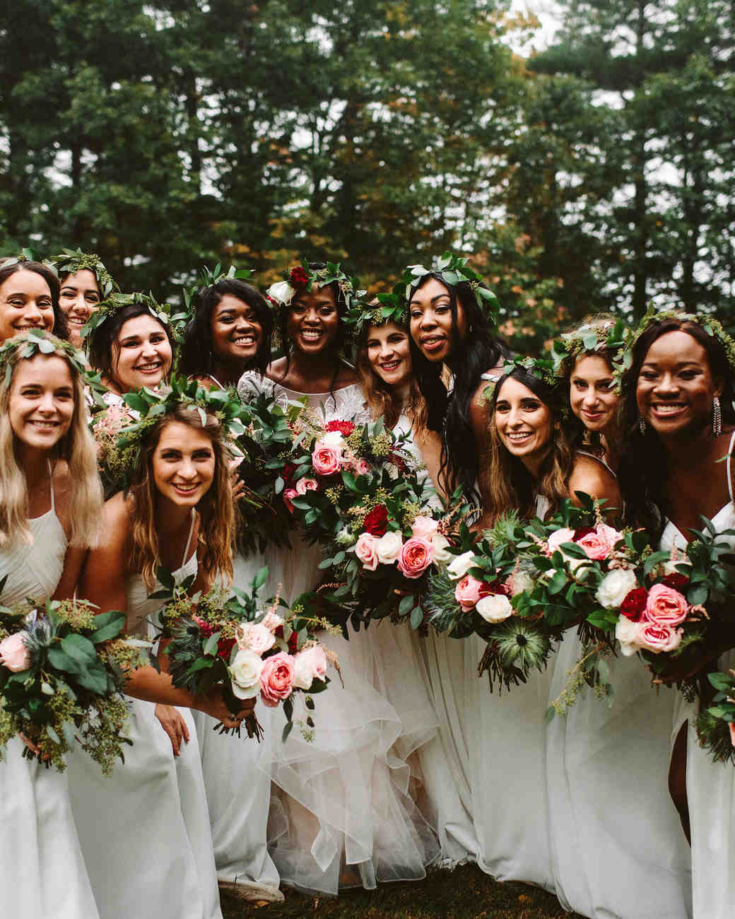 rivka aaron wedding bridesmaids