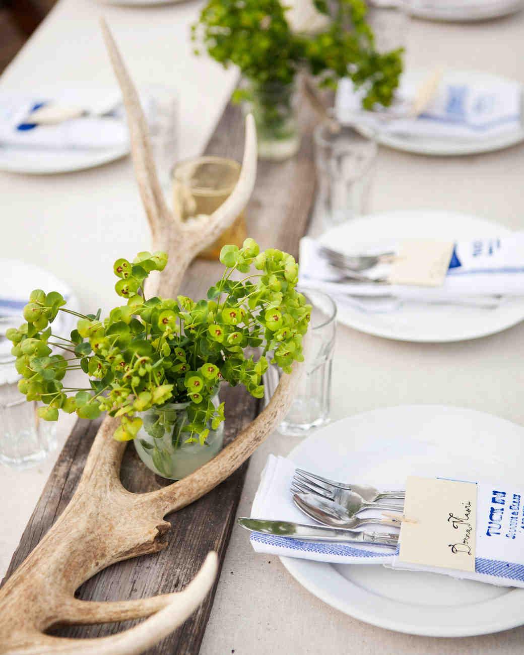 Rustic Centerpieces & Green Wedding Centerpieces   Martha Stewart Weddings