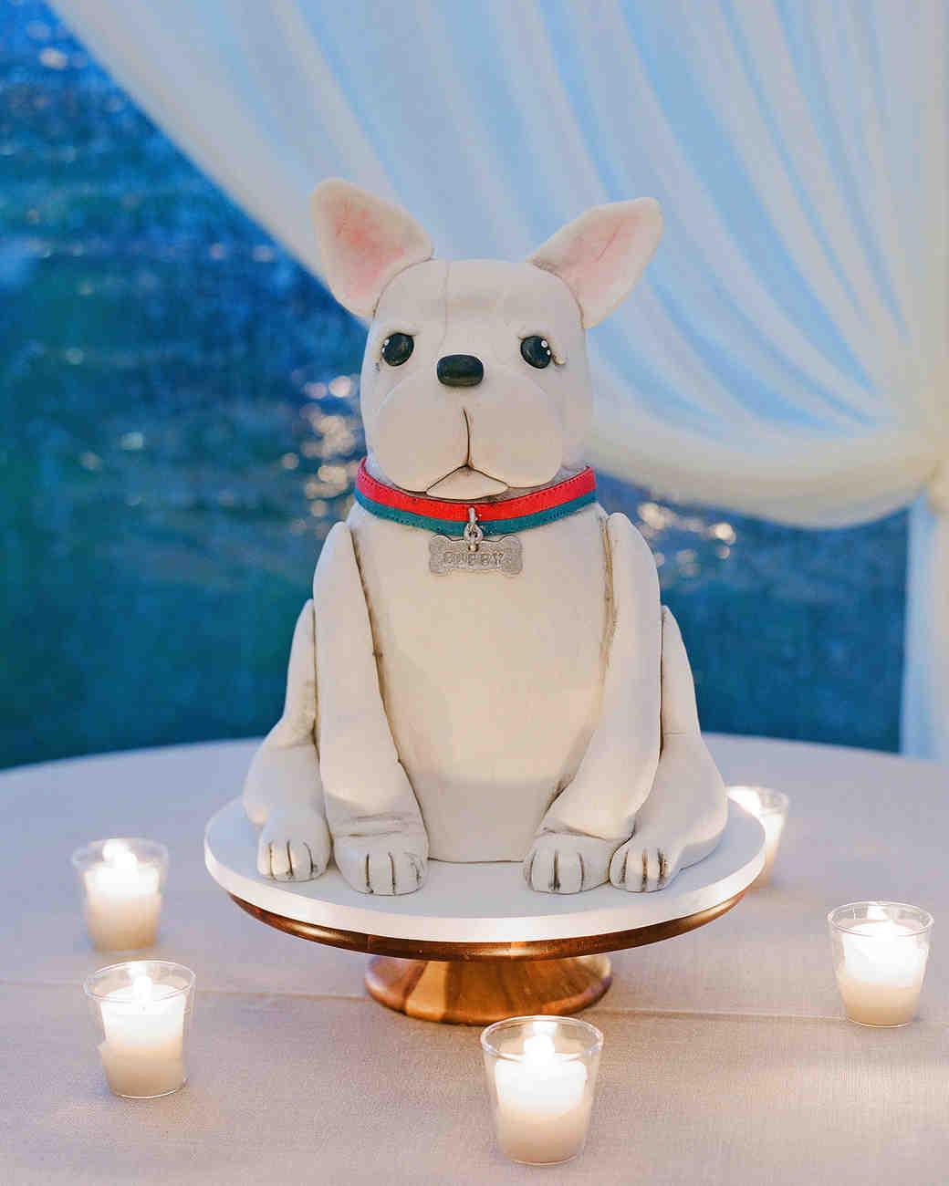 sloan scott wedding grooms cake dog