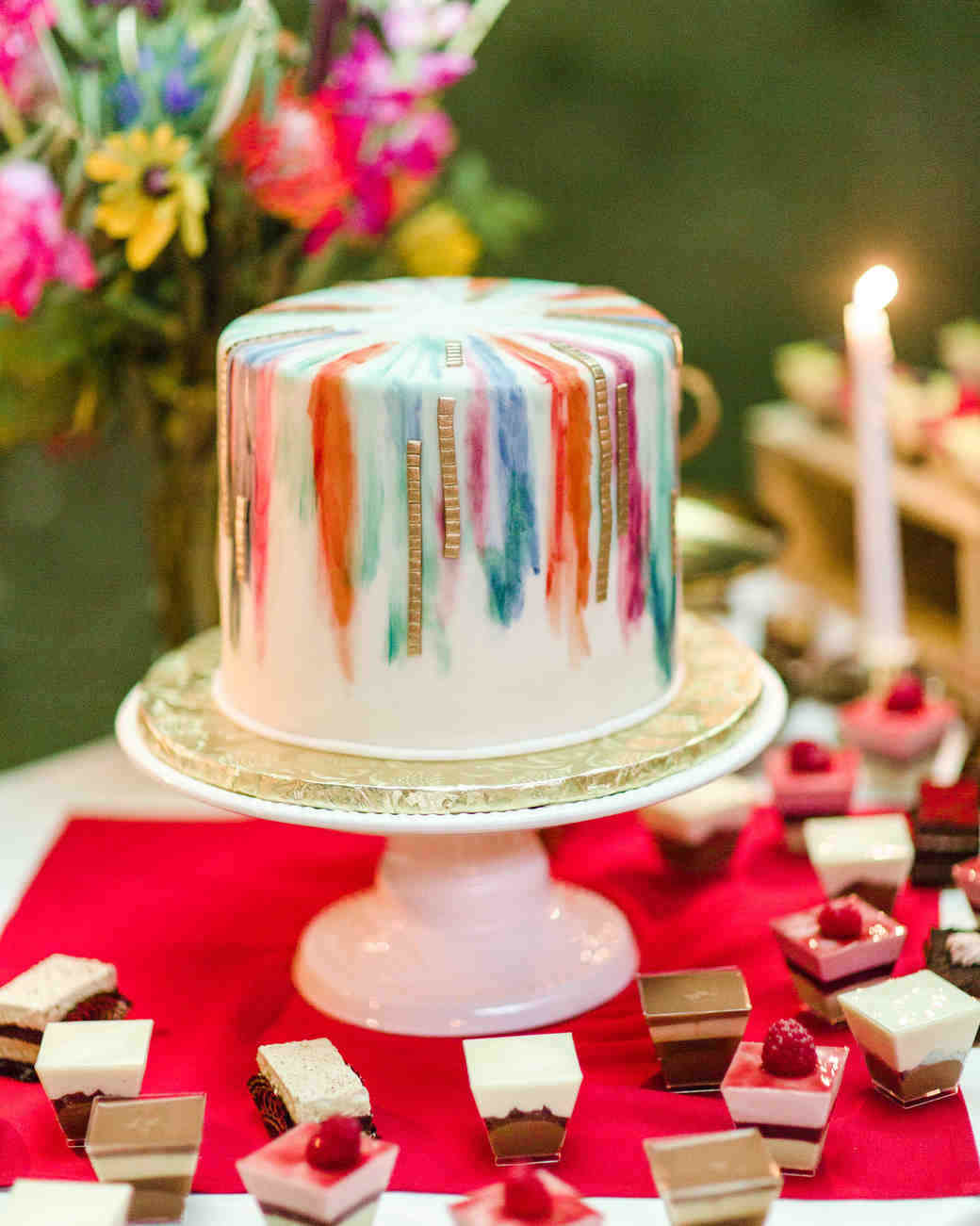 Small intimate weddings take cake