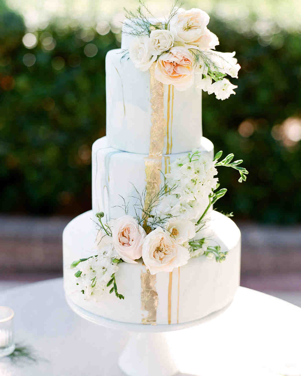 best wedding cakes for summer 44 wedding cakes with fresh flowers martha stewart weddings 11540