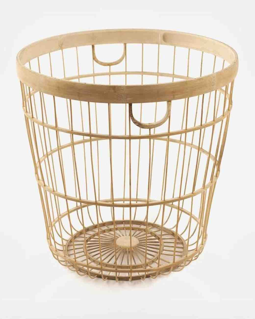 Baskets for Apartment-Friendly Registry