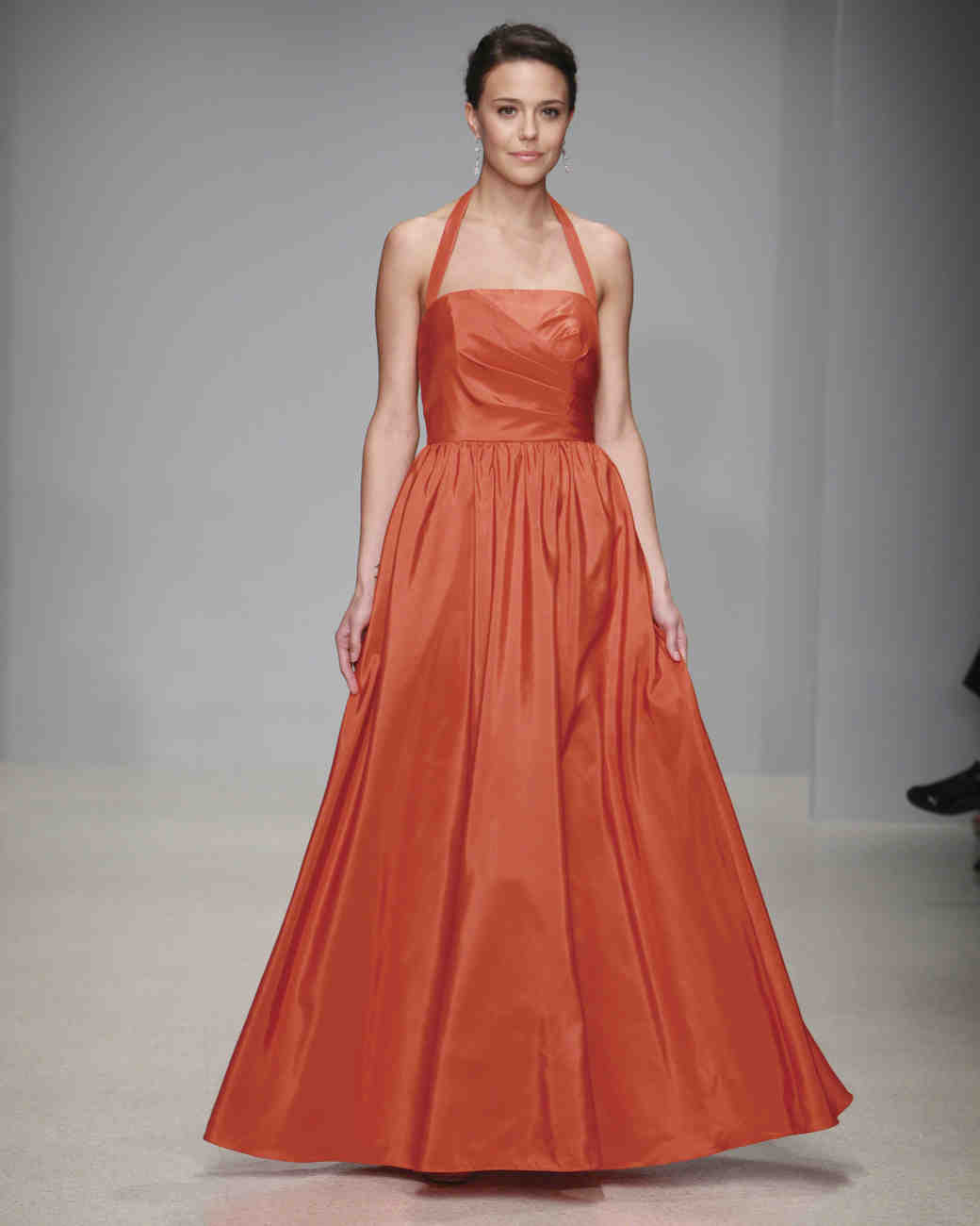 Orange Bridesmaid Dresses | Martha Stewart Weddings