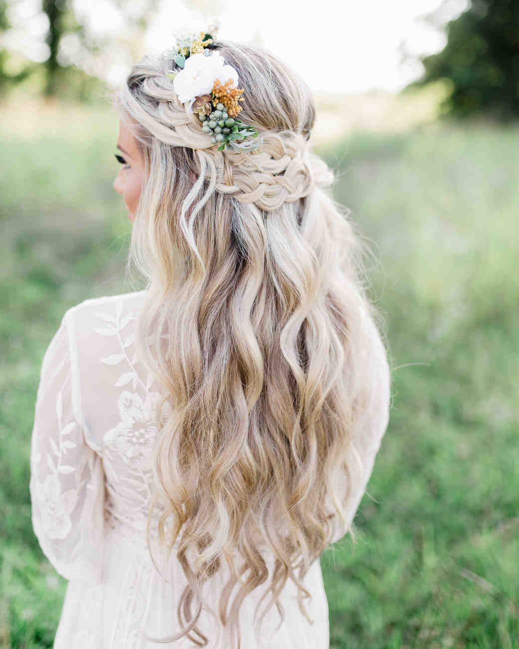 honey bee hair style 25 braided wedding hairstyles we martha stewart 5408 | braids honey and bee photography 0918 vert