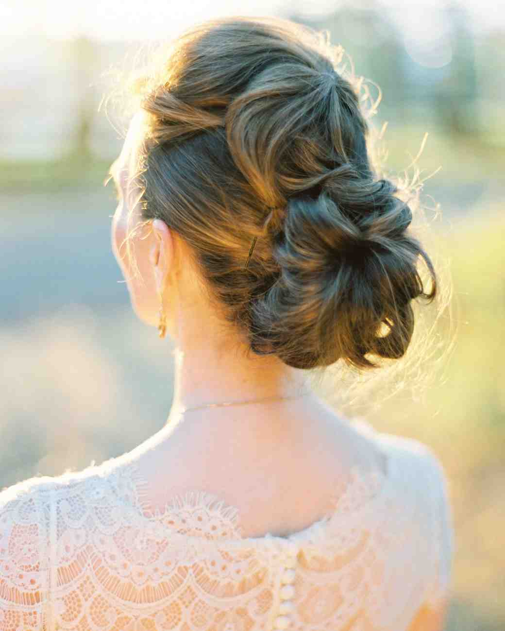 bridal updos orange photographie