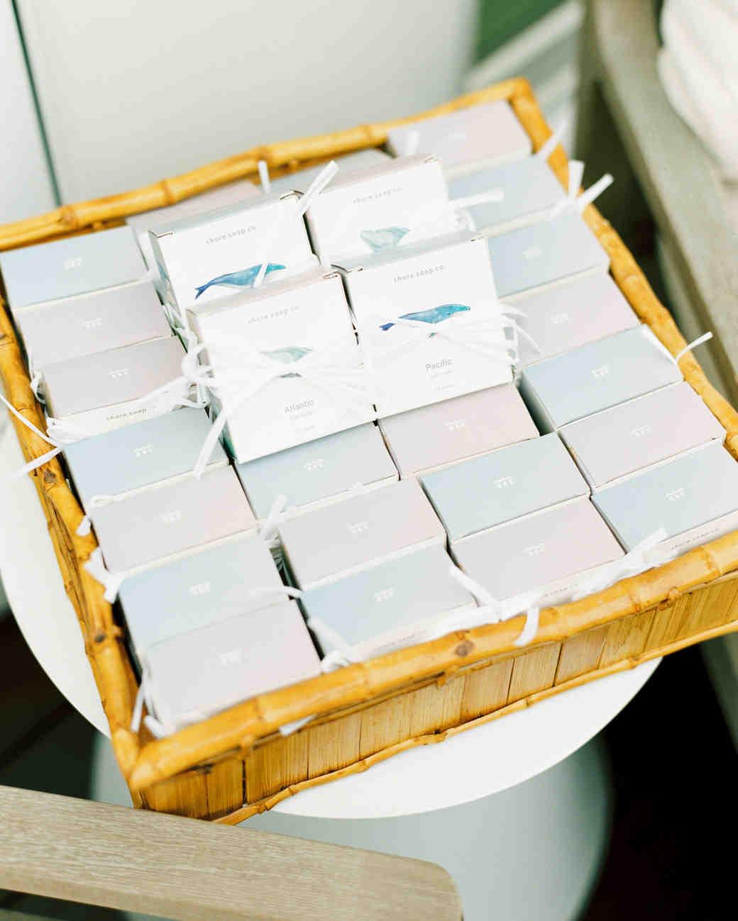 handmade soap wedding favors