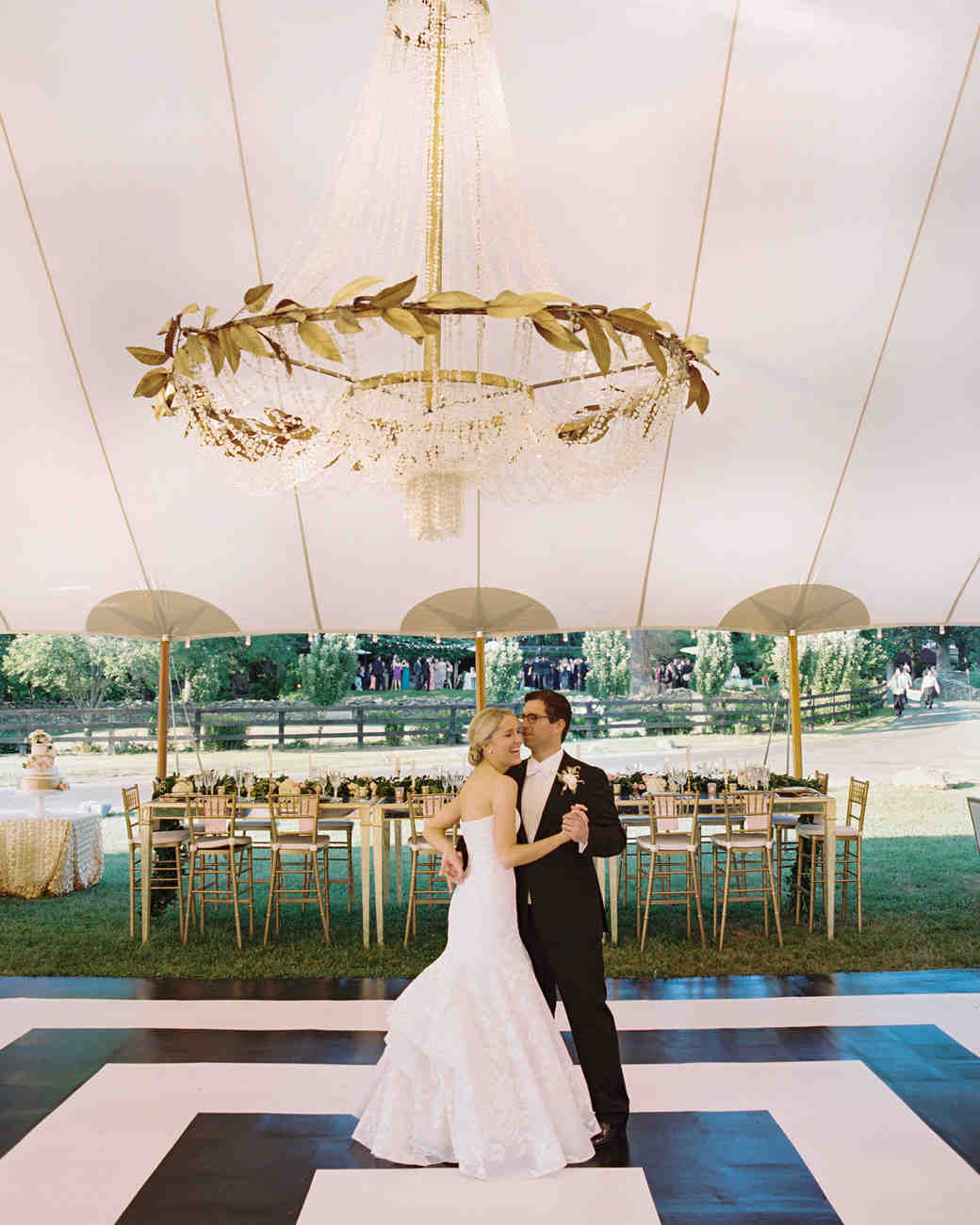 wedding chandelier greek style large tent centerpiece