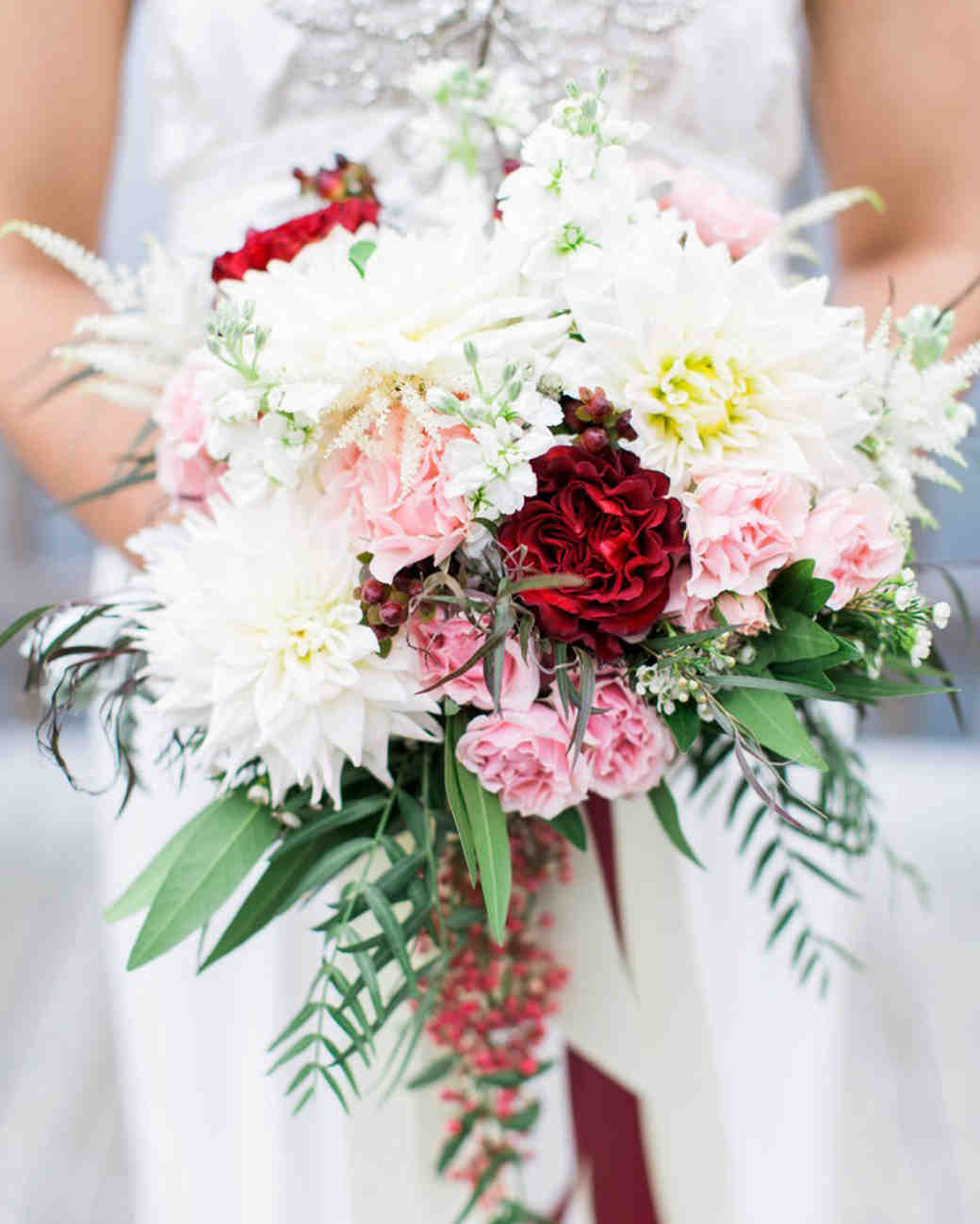36 Dreamy Dahlia Wedding Bouquets Martha Stewart Weddings