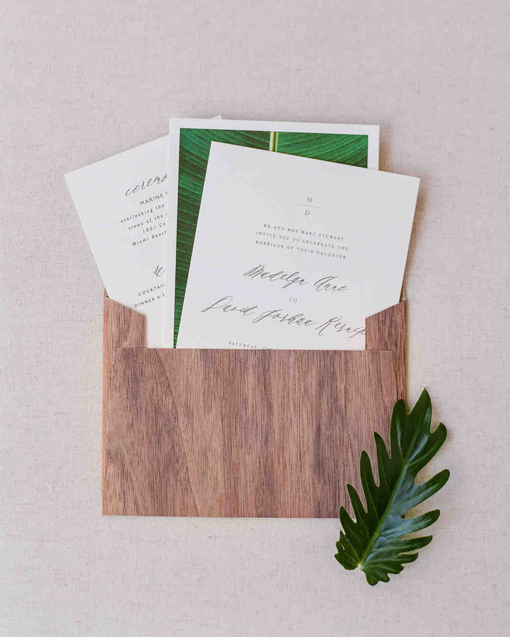 nature inspired invitation