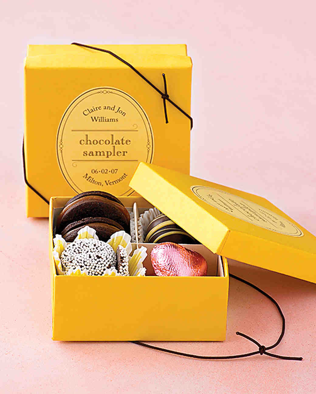 40 Gift Box Ideas To Hold Your Wedding Favors In Style Martha Weddings