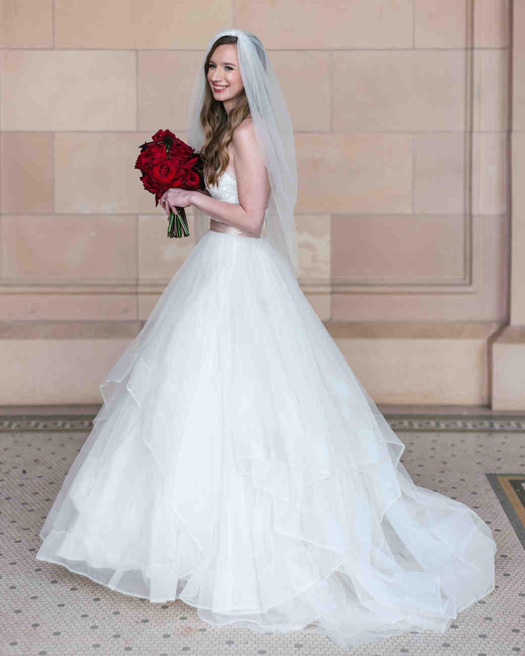 johnna colbry bride in wedding dress