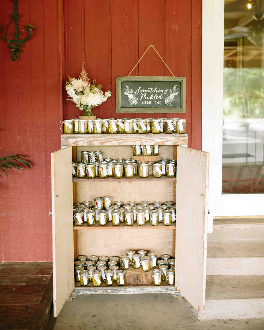 spicy pickles edible wedding favors