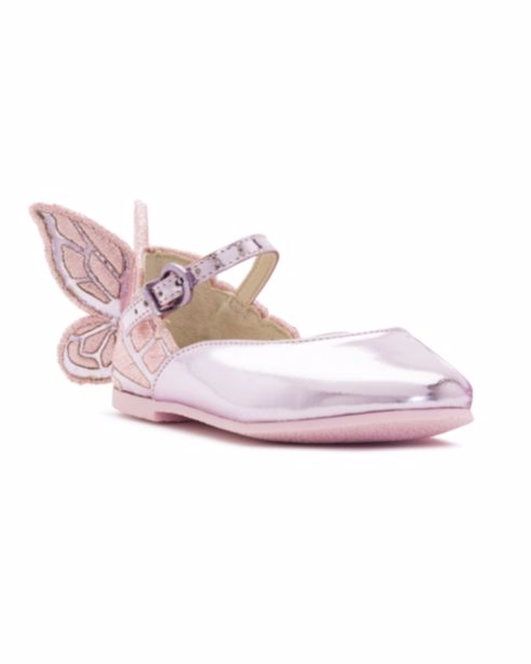 Adorable shoes to complete your flower girls big day look martha flower girl shoes butterfly mightylinksfo