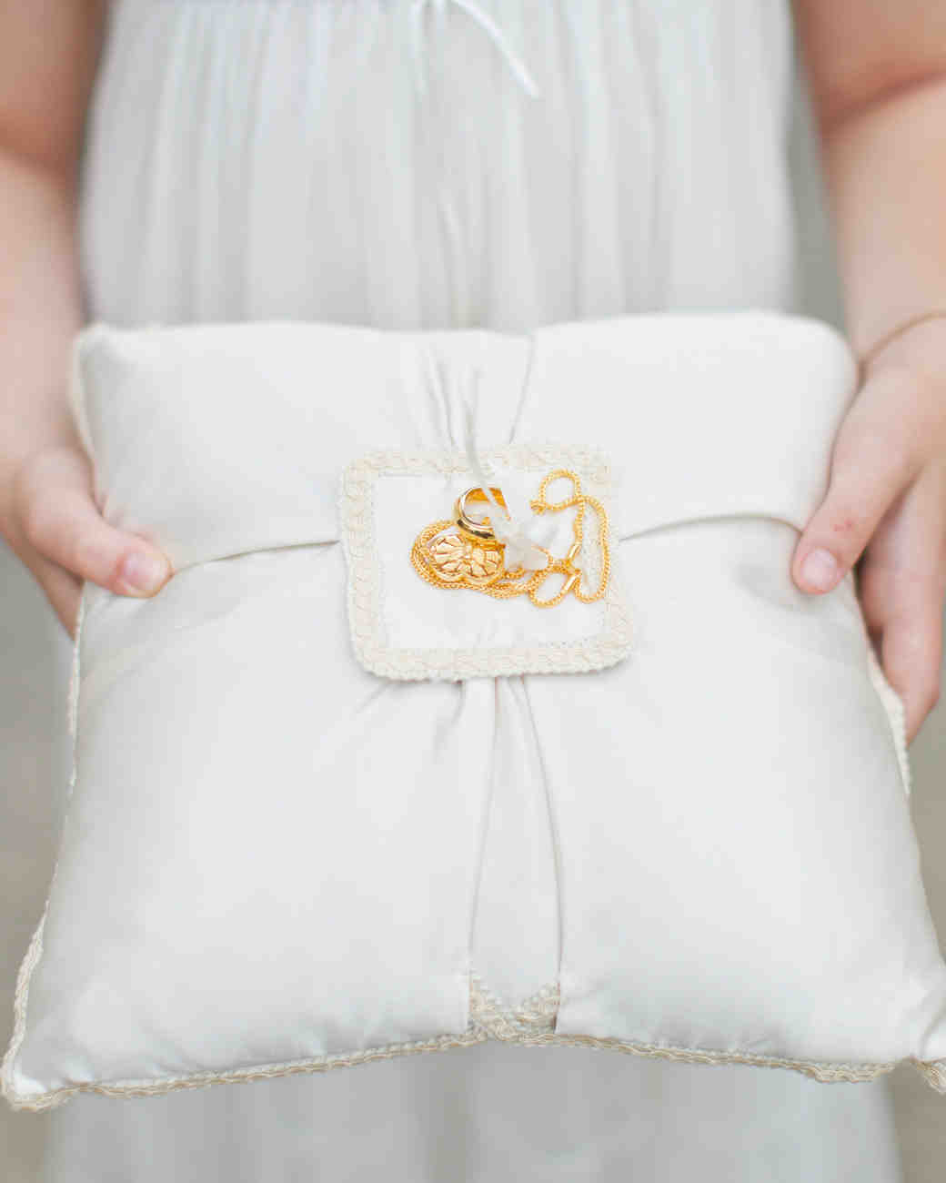 bride ring attached wedding holds shutterstock royalty golden pair stock two image rings photo pillow with free for to
