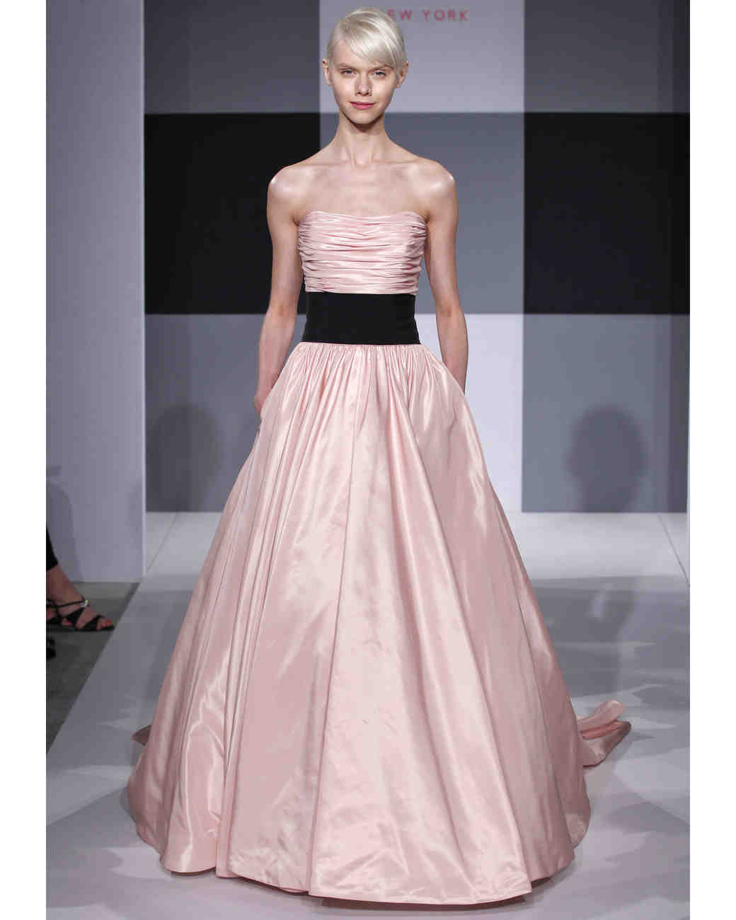 Pink Wedding Dresses, Spring 2013 Bridal Fashion Week | Martha ...