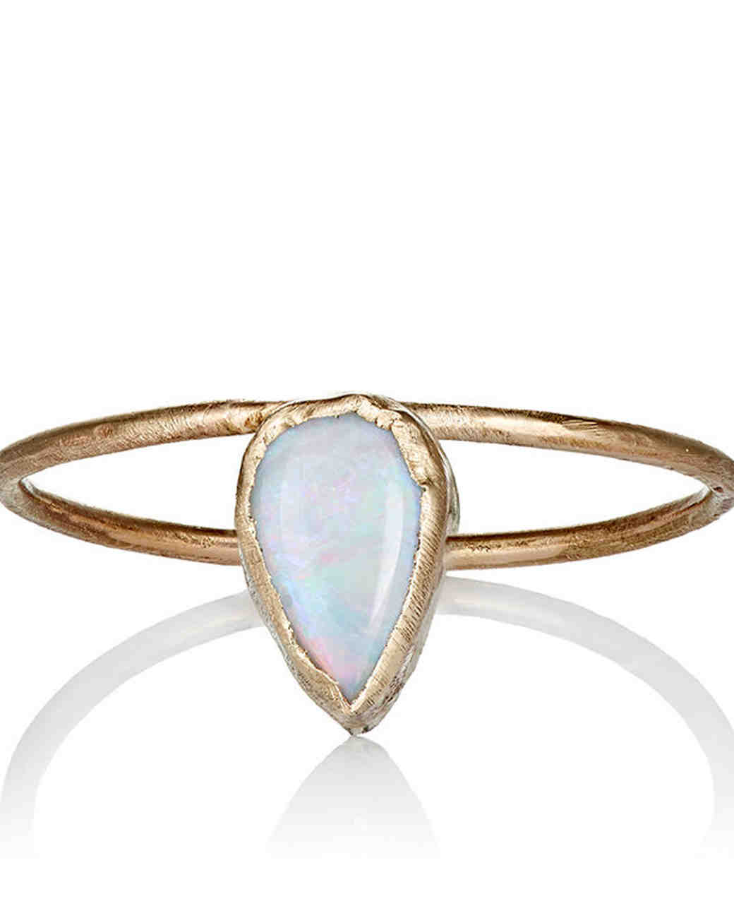 Julie Wolfe Opal Engagement Ring