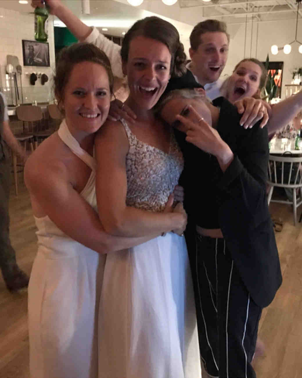 Kristen Stewart crashing a couples wedding in Canada