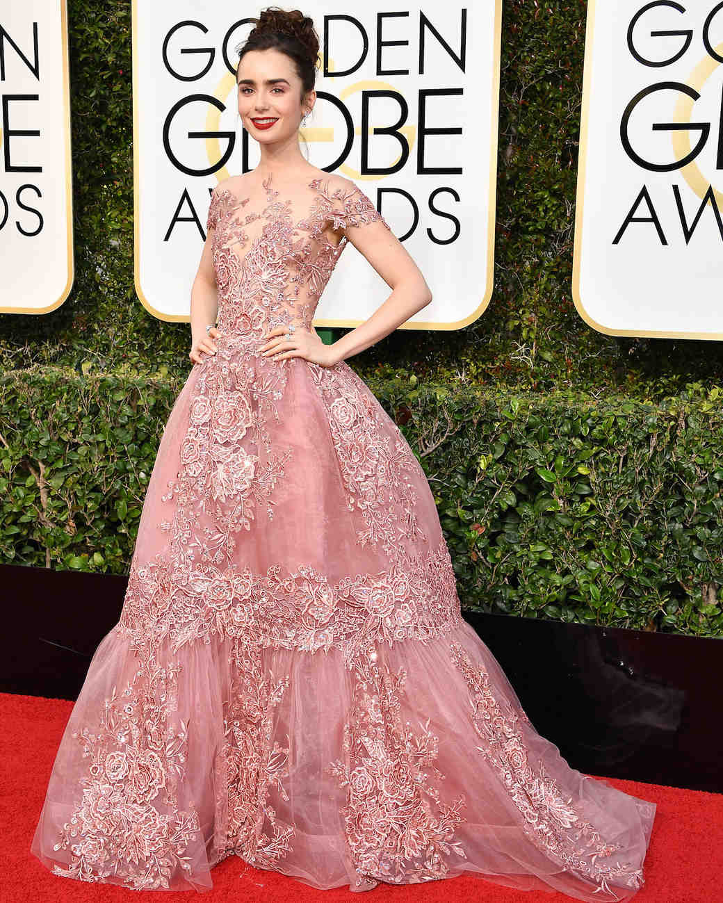 Golden globes 2017 the best red carpet dresses to inspire your bridal look martha stewart - Dresses from the red carpet ...