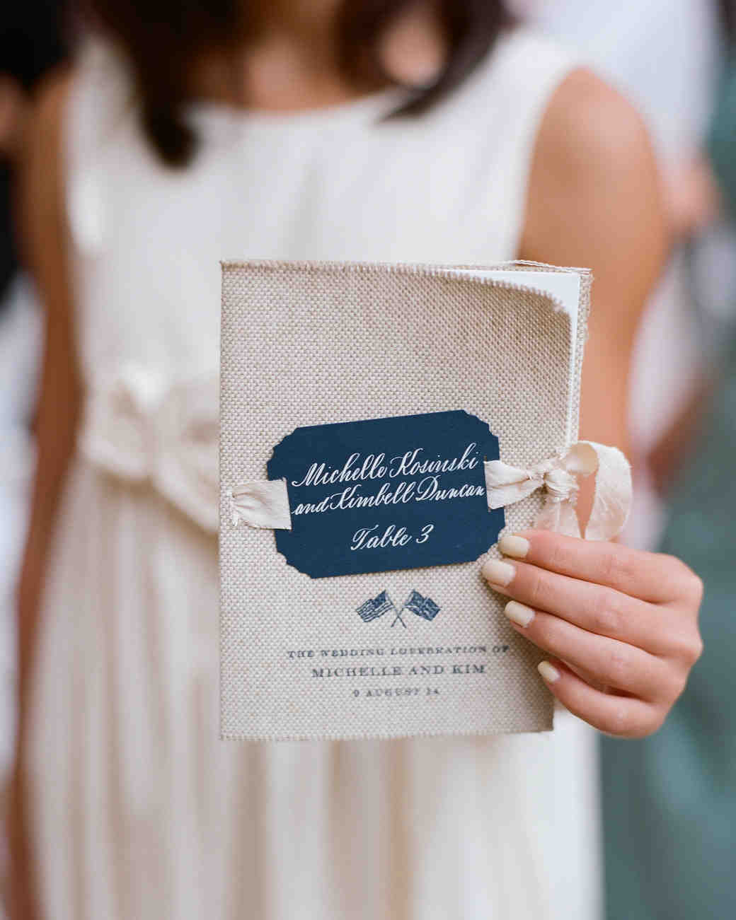 44 perfect wedding ceremony programs martha stewart weddings