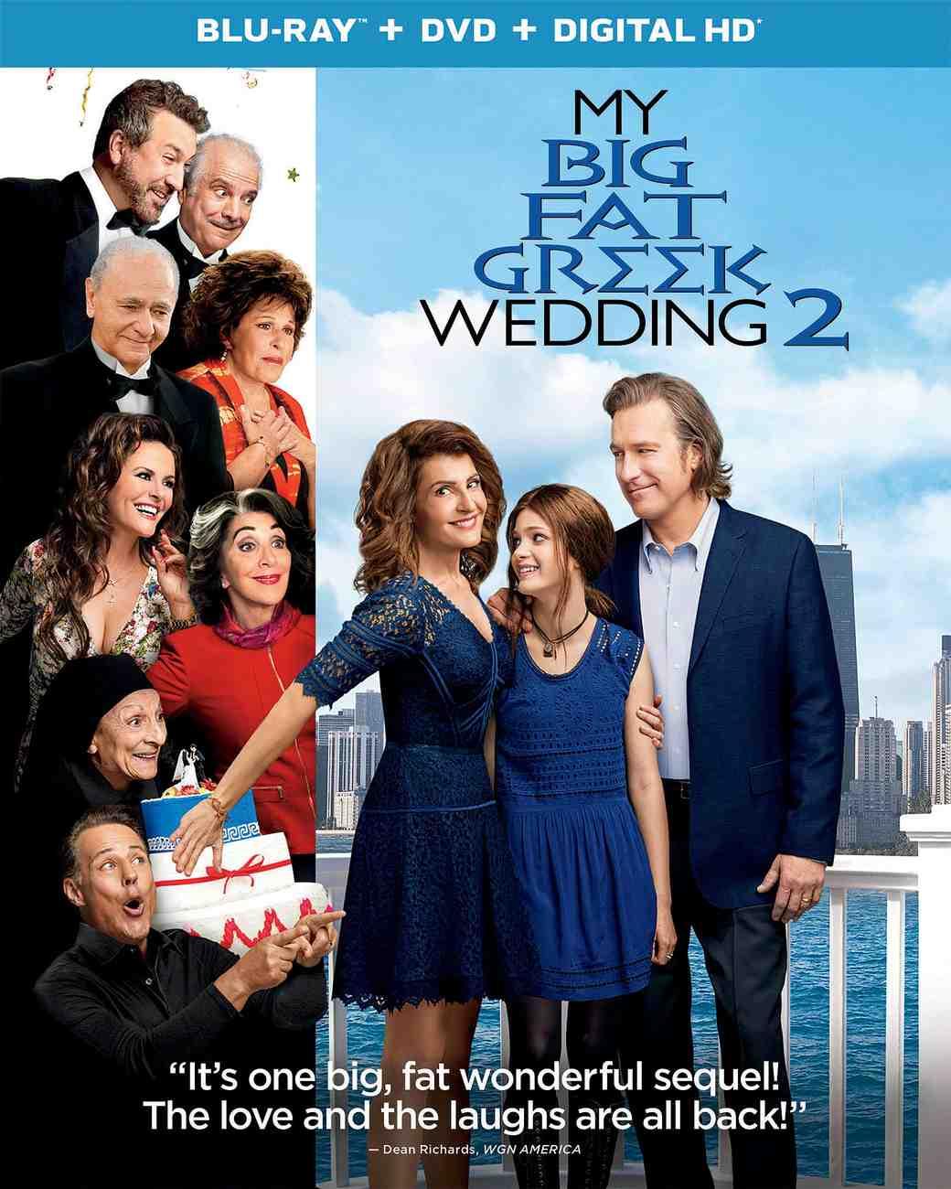 """""""My Big Fat Greek Wedding 2"""" promo"""
