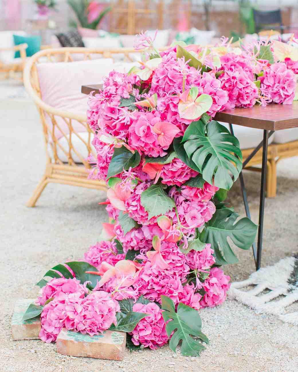 38 Pink Wedding Centerpieces We Love | Martha Stewart Weddings