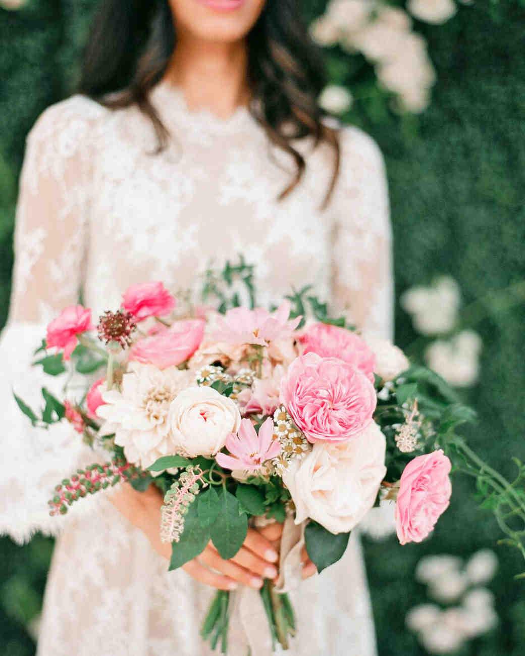 The prettiest pink wedding bouquets martha stewart weddings mightylinksfo