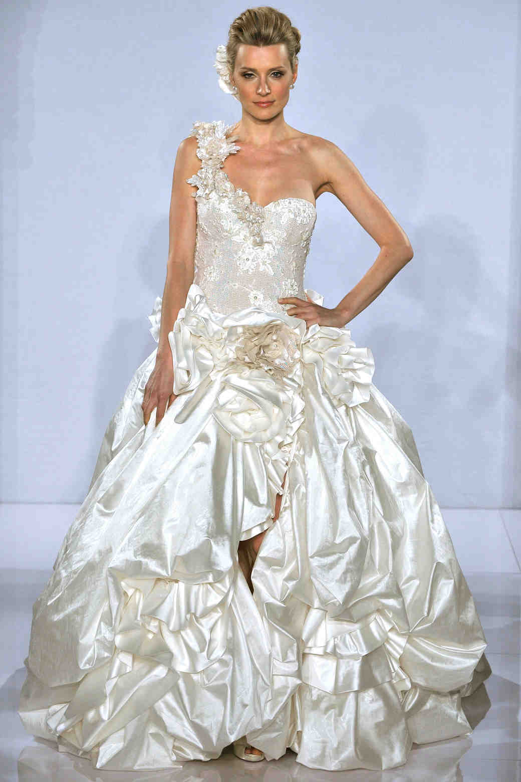 Pnina Tornai, Fall 2012 Collection | Martha Stewart Weddings