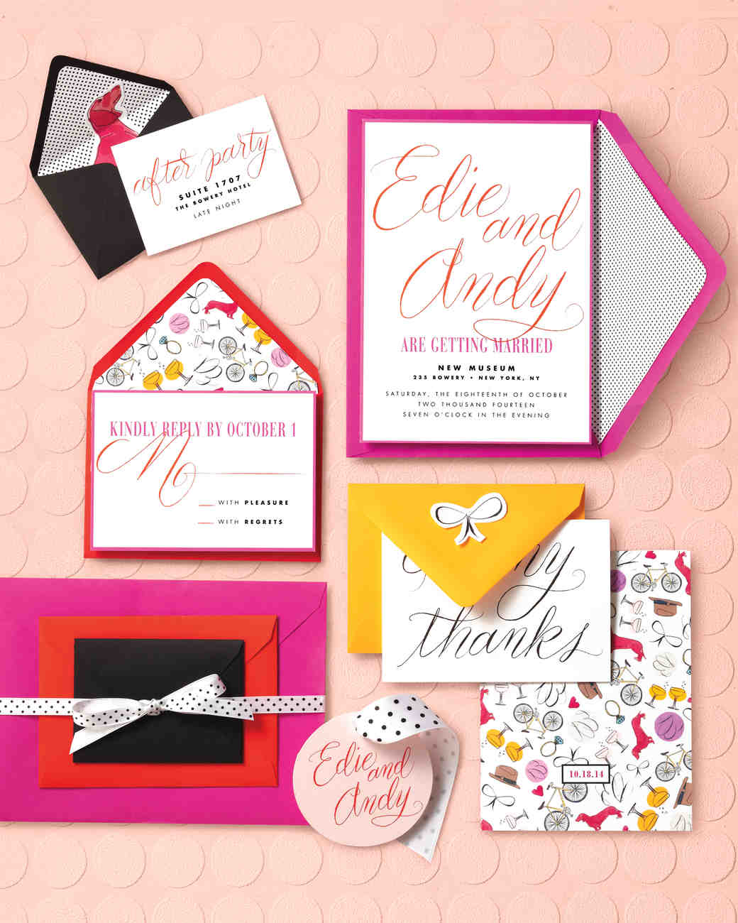 From Klimt to Warhol: Wedding Stationery Ideas Straight from a ...