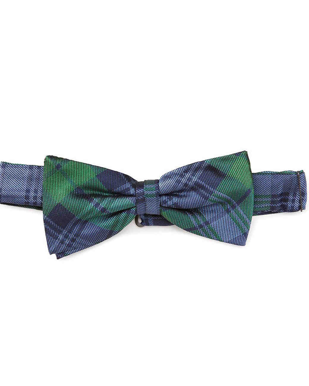 blue and green bowtie