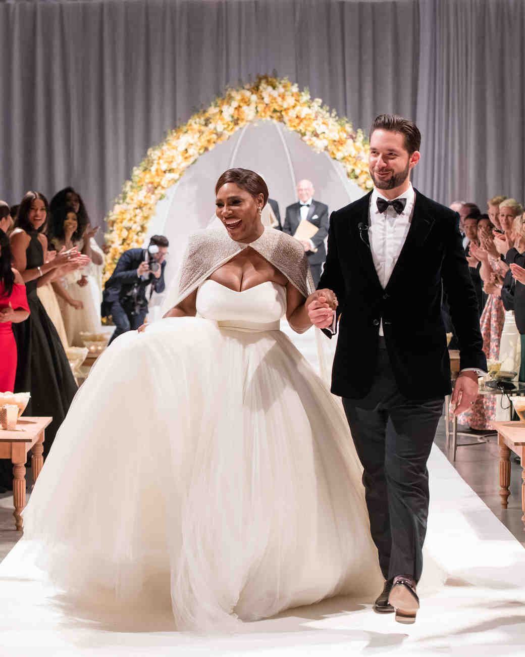 Serena Williams and Alexis Ohanian Wedding Ceremony