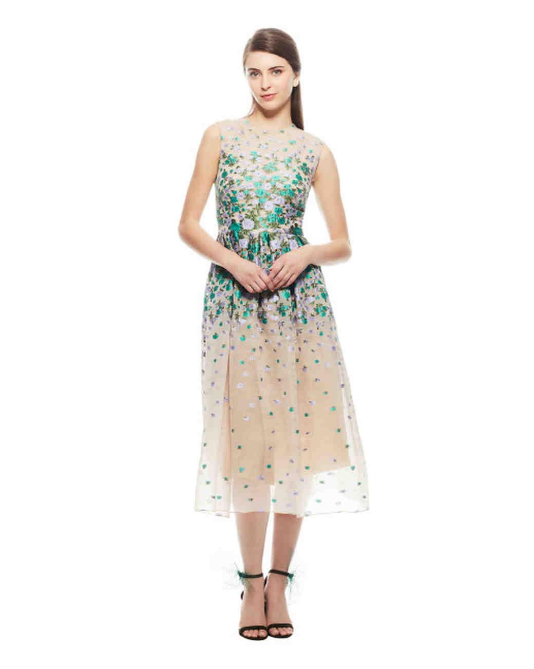 """Lela Rose """"Degrade"""" Dress"""