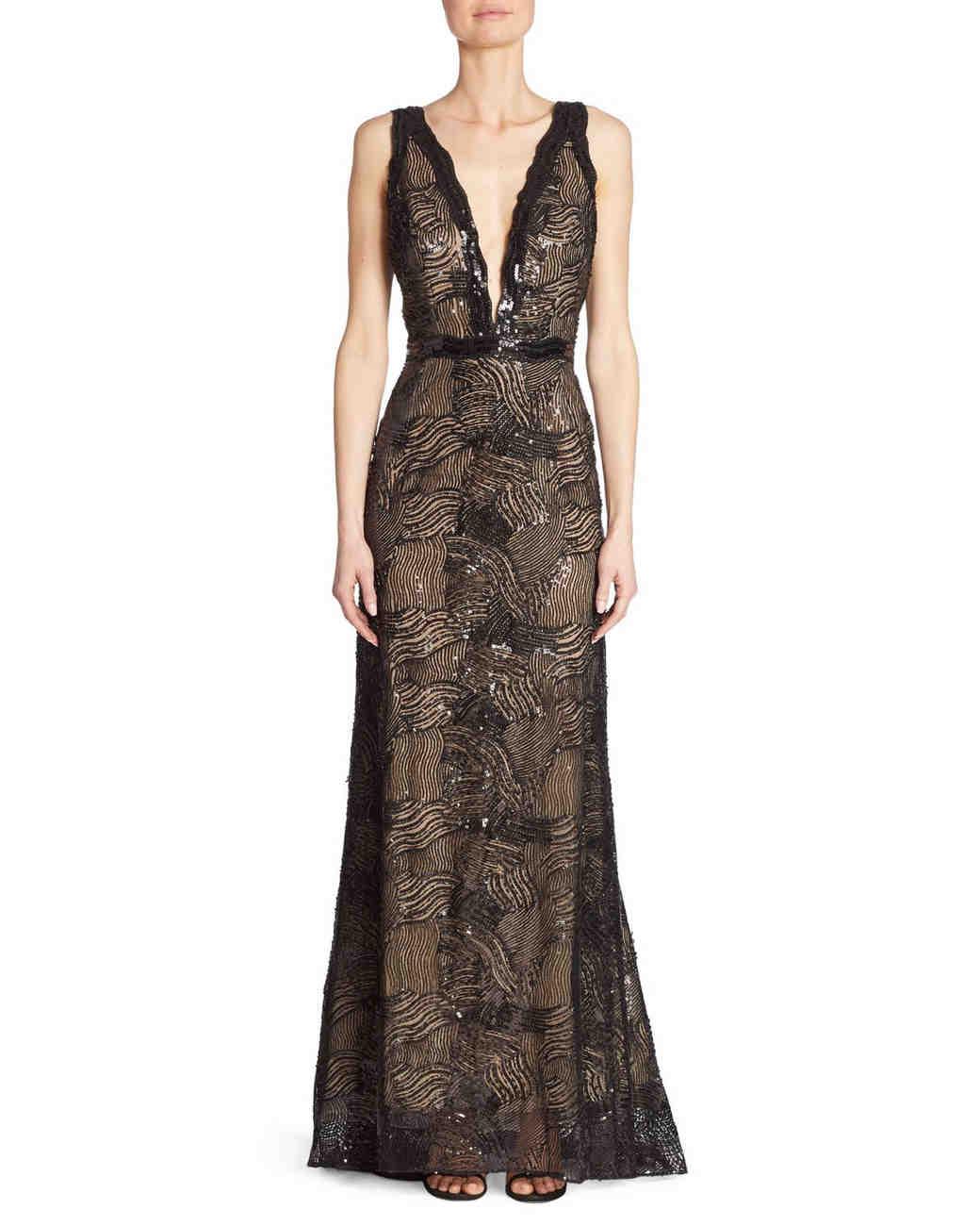 Liancarlo Beaded Gown