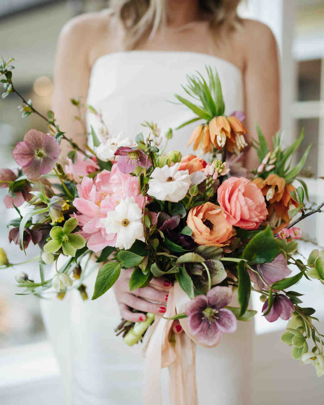 Ideas For Wedding Flowers: 52 Ideas For Your Spring Wedding Bouquet
