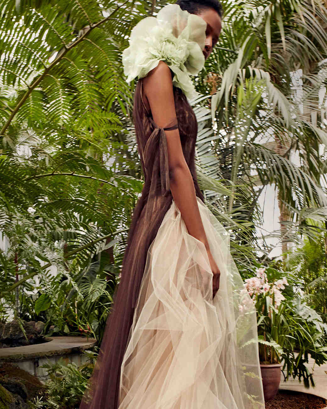 vera wang chocolate champagne wedding dress spring 2020
