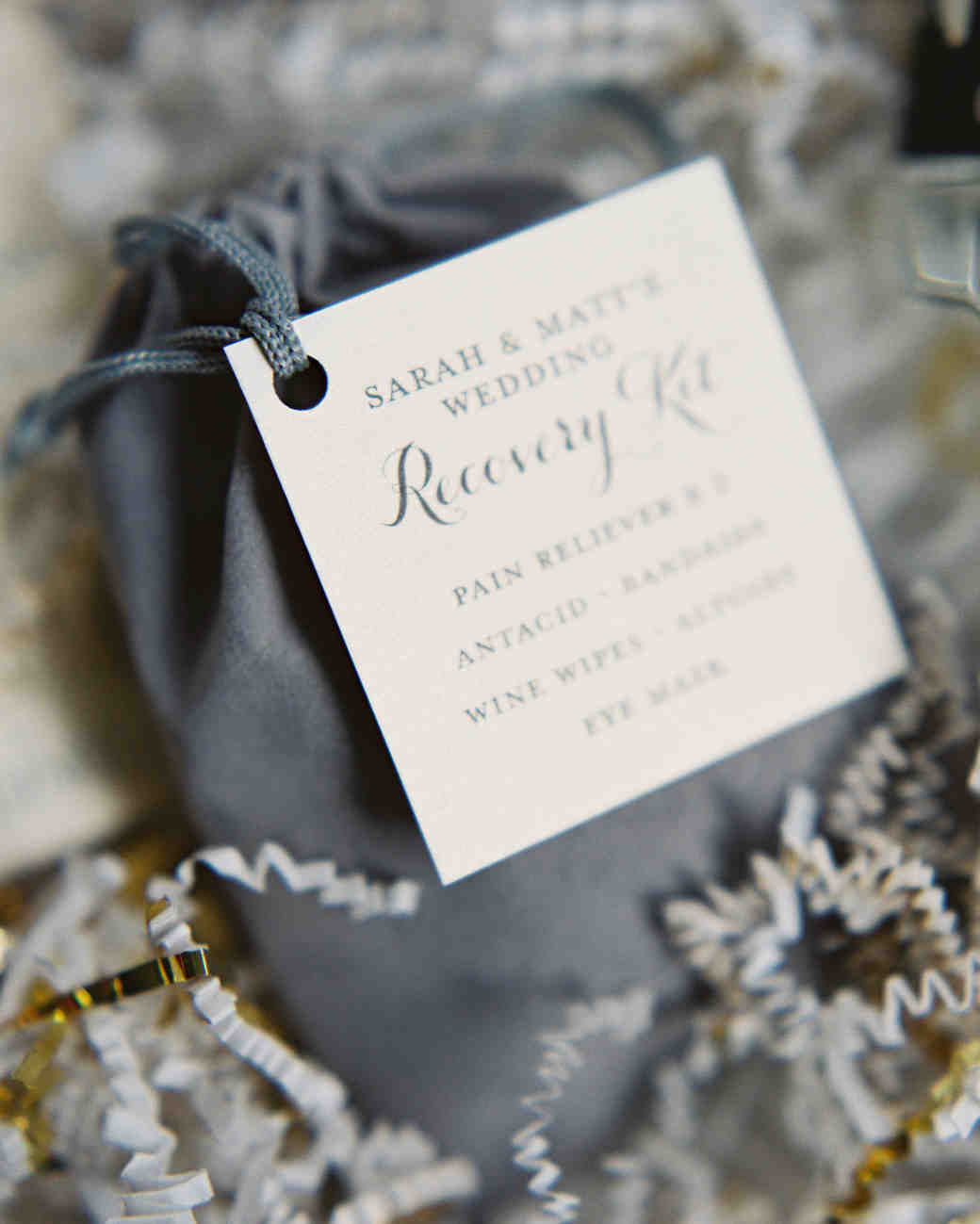 Party Favors Winter Wedding