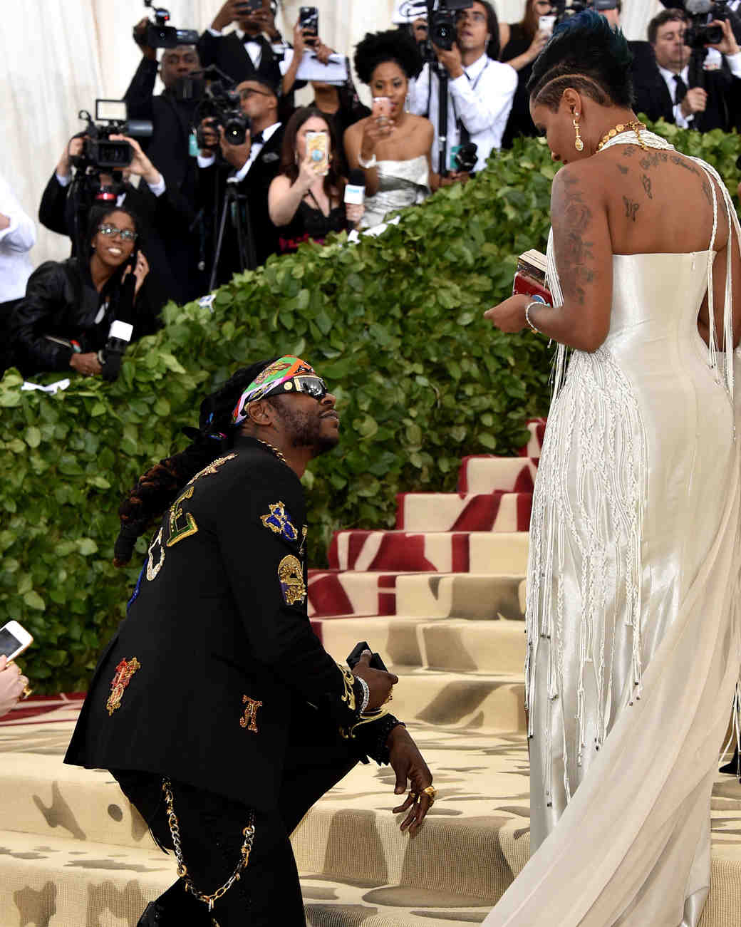 2 Chainz and Kesha Ward 2018 Met Gala
