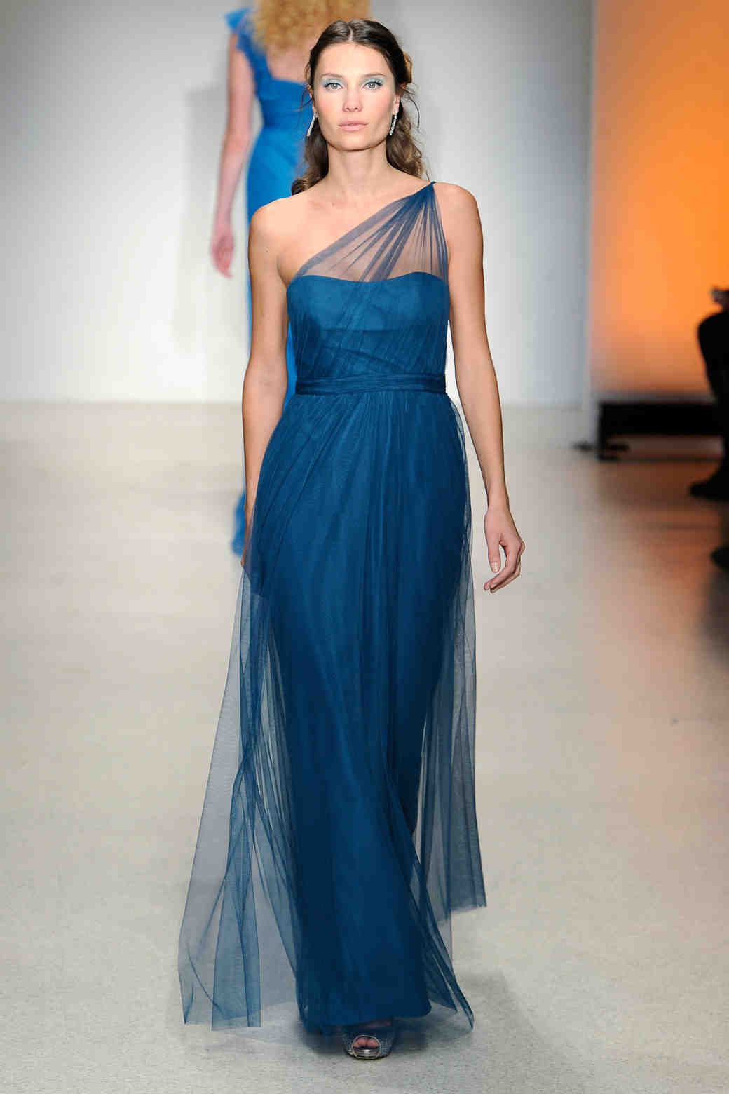 Alfred angelo fall 2013 bridesmaid collection martha stewart long navy bridesmaid dress alfred angelo ombrellifo Choice Image