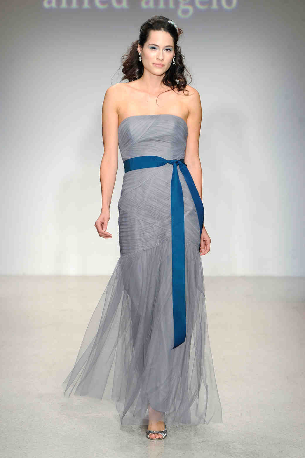 Alfred angelo fall 2013 bridesmaid collection martha stewart long gray bridesmaid dress alfred angelo ombrellifo Image collections