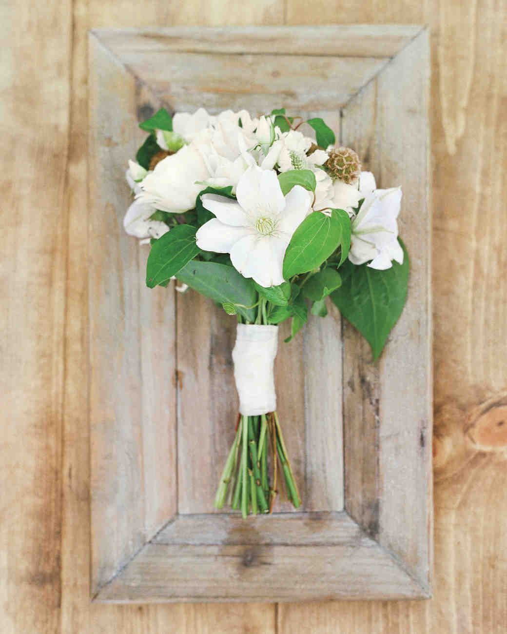 delicate white bouquet