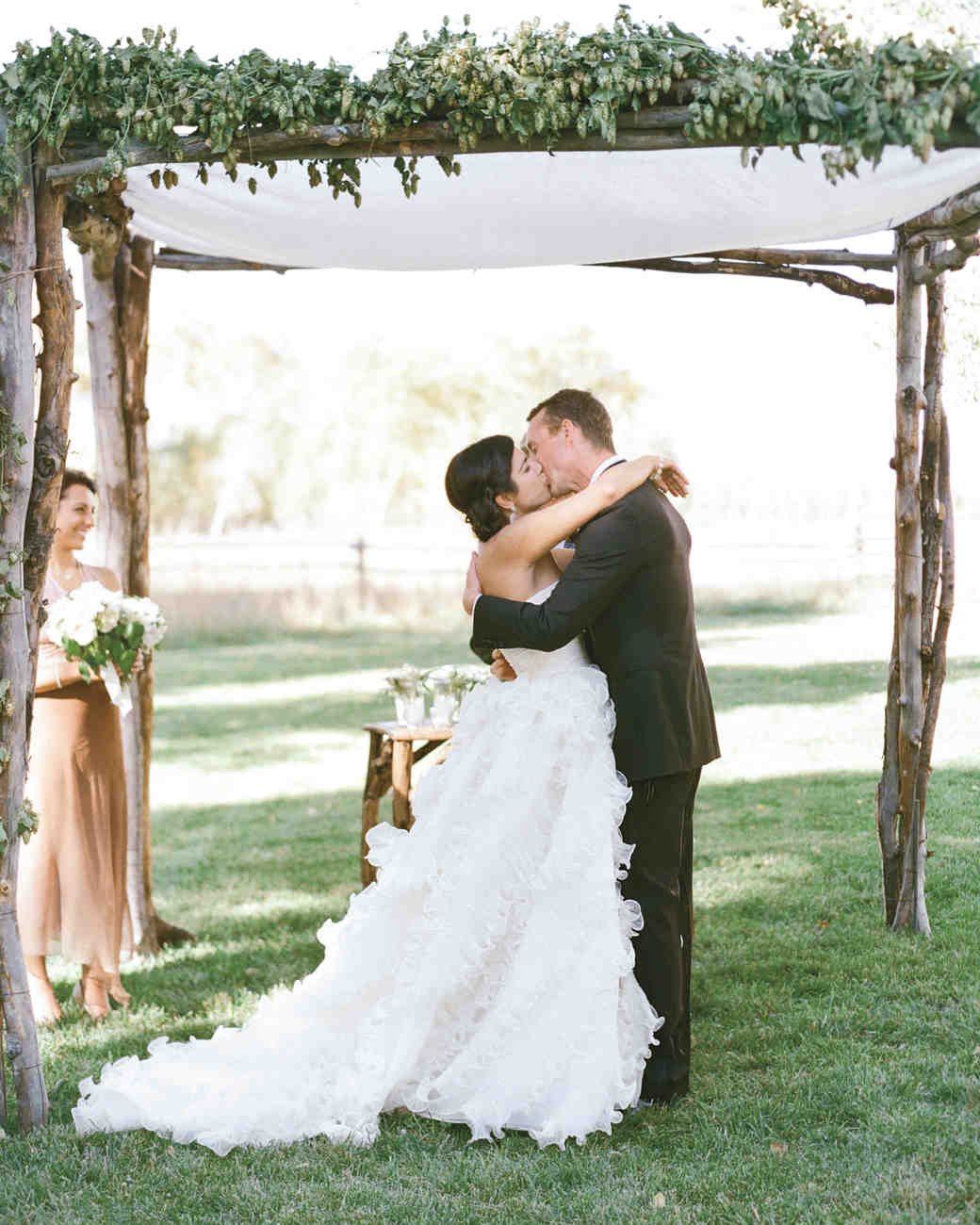 & 51 Beautiful Chuppahs from Jewish Weddings | Martha Stewart Weddings