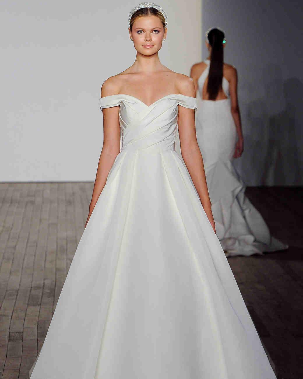de0a2f3615 Allison Webb Fall 2019 Wedding Dress Collection