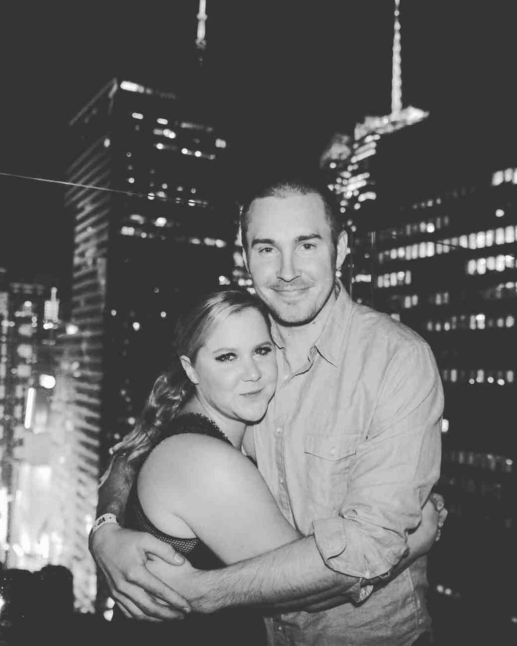 Amy Schumer and Ben Hanisch Skyline Photograph