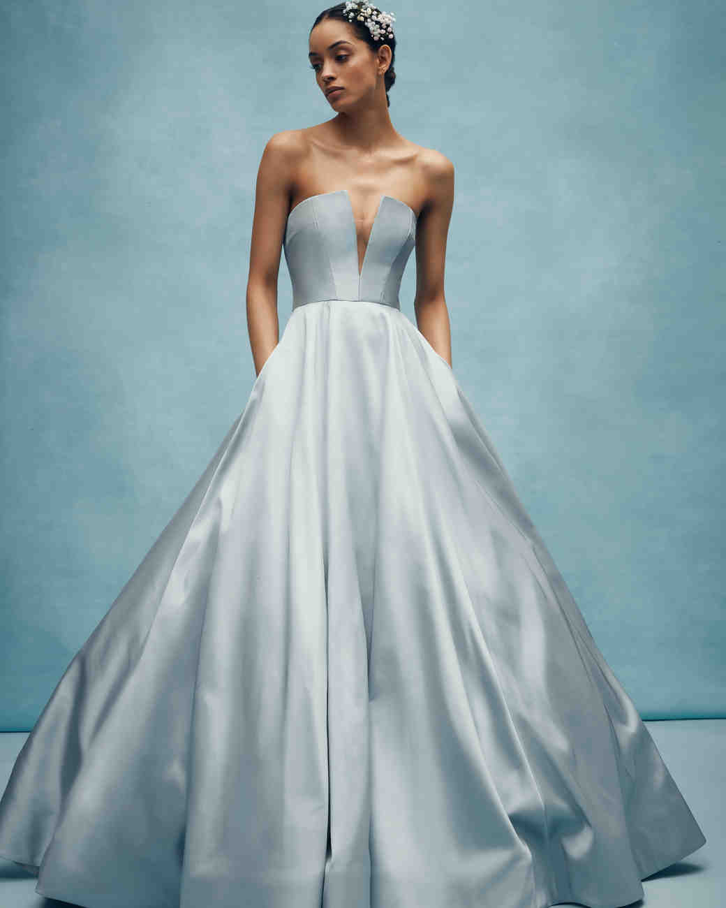6fc8681f2 Colorful Wedding Dresses That Make a Statement Down the Aisle ...